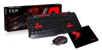 INCA IKG-330 GAMING COMBO SET MOUSE+MOUSEPAD